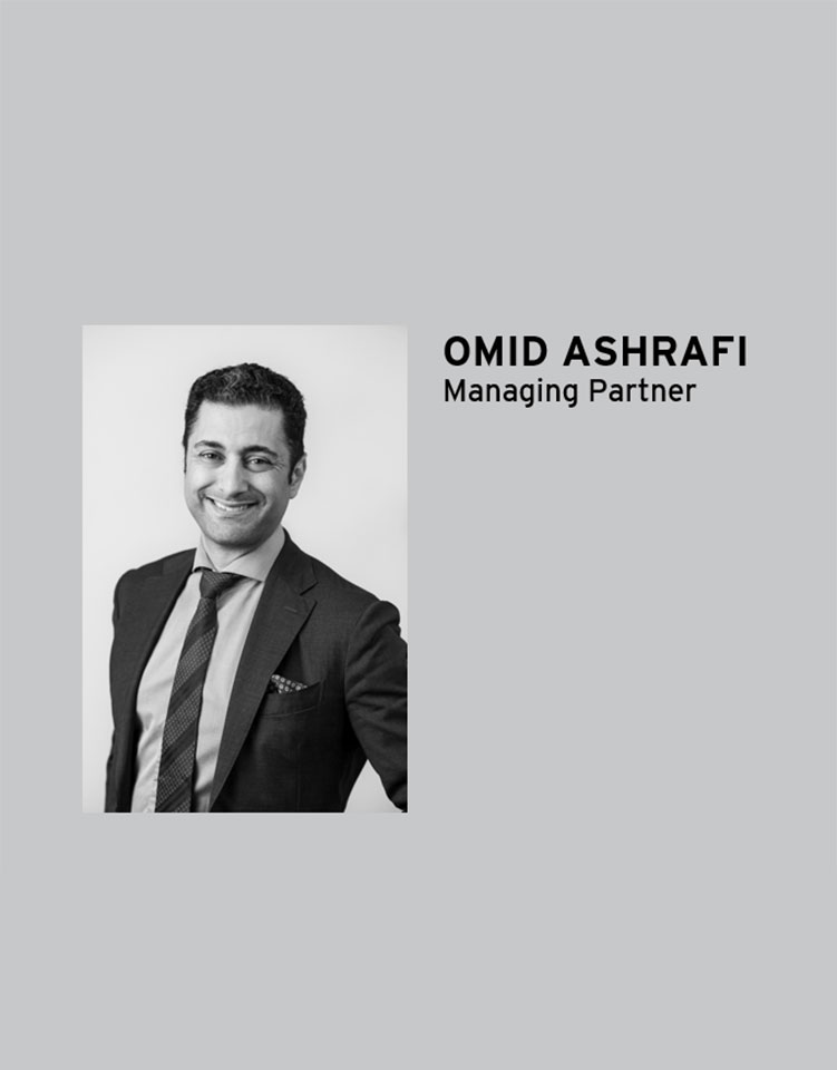 Omid Ashrafi, Managing Partner